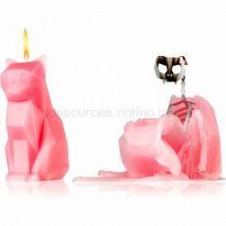 54 Celsius PyroPet KISA (Cat) dekoratívna sviečka dusty pink 17 cm