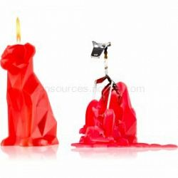 54 Celsius PyroPet VOFFI (Dog) dekoratívna sviečka berry 18 cm