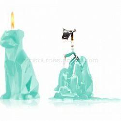54 Celsius PyroPet VOFFI (Dog) dekoratívna sviečka mint 18 cm