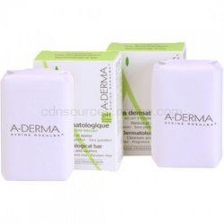 A-Derma Original Care dermatologická umývacia kocka pre citlivú a podráždenú pokožku DUOBALENIE 2 x100 g