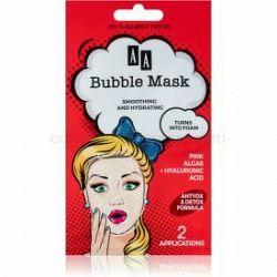 AA Cosmetics AA Bubble Mask hydratačná vyhladzujúca maska 2 x 4 ml