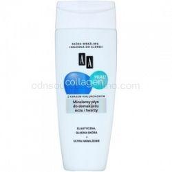 AA Cosmetics Collagen HIAL+ micelárna čistiaca voda na tvár a oči 200 ml