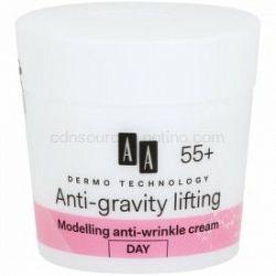 AA Cosmetics Dermo Technology Anti-Gravity Lifting modelačný krém s protivráskovým účinkom 55+ 50 ml