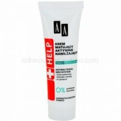 AA Cosmetics Help Acne Skin zmatňujúci krém s hydratačným účinkom 40 ml