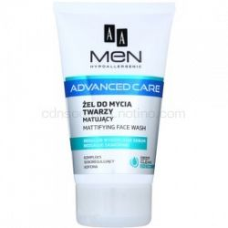 AA Cosmetics Men Advanced Care zmatňujúci čistiaci gél na tvár 150 ml