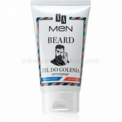 AA Cosmetics Men Beard gél na holenie 100 ml
