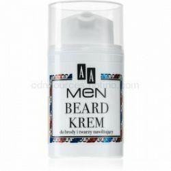 AA Cosmetics Men Beard hydratačný krém na tvár a fúzy 50 ml