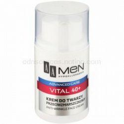 AA Cosmetics Men Vital 40+ protivráskový krém proti starnutiu pleti 50 ml