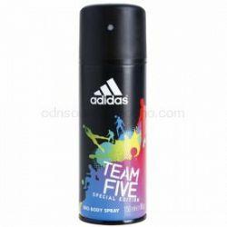 Adidas Team Five dezodorant v spreji pre mužov 150 ml