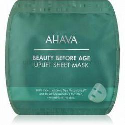 Ahava Beauty Before Age vyhladzujúca plátenná maska s liftingovým efektom