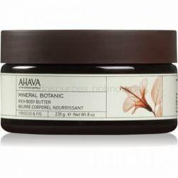 Ahava Mineral Botanic Hibiscus & Fig vyživujúce telové maslo ibištek a figa 235 g