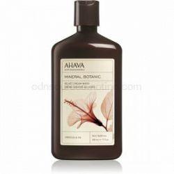 Ahava Mineral Botanic Hibiscus & Fig zamatový sprchový krém ibištek a figa 500 ml