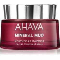 Ahava Mineral Mud rozjasňujúca pleťová maska s hydratačným účinkom 50 ml