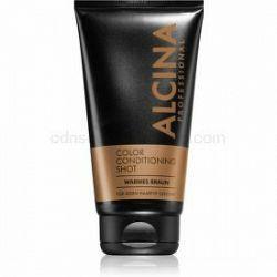 Alcina Color Conditioning Shot Silver tónovací balzam pre zvýraznenie farby vlasov odtieň Warm Brown 150 ml