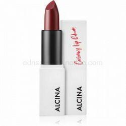 Alcina Decorative Creamy Lip Colour krémový rúž odtieň Cherry