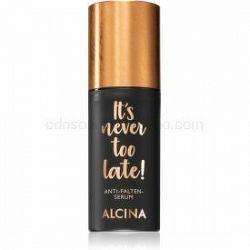Alcina It's never too late! sérum proti vráskam 30 ml