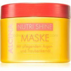 Alcina Nutri Shine vyživujúca maska na vlasy s arganovým olejom 200 ml