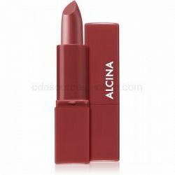 Alcina Pure Lip Color krémový rúž odtieň 01 Natural Mauve