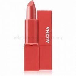 Alcina Pure Lip Color krémový rúž odtieň 04 Poppy Red