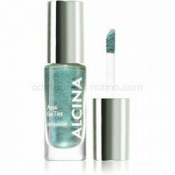 Alcina Summer Breeze Aqua Eye Tint dvojfázové očné tiene s metalickým efektom odtieň Turquoise 5 ml
