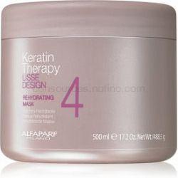 Alfaparf Milano Lisse Design Keratin Therapy rehydratačná maska pre všetky typy vlasov 500 ml