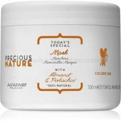 Alfaparf Milano Precious Nature Almond & Pistachio maska na ochranu farby 500 ml