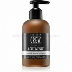 American Crew Acumen hydratačný krém na ruky a telo pre mužov 190 ml