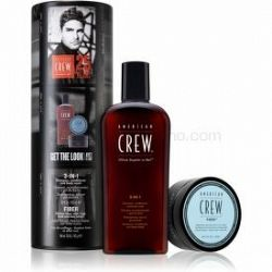 American Crew Hair & Body 3-IN-1 darčeková sada (na vlasy a telo) pre mužov