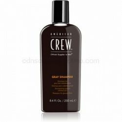 American Crew Hair & Body Gray Shampoo šampón pre šedivé vlasy 250 ml