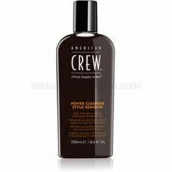 American Crew Hair & Body Power Cleanser Style Remover čistiaci šampón na každodenné použitie 250 ml