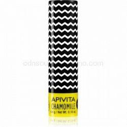 Apivita Lip Care Chamomile hydratačný balzam na pery SPF 15 4,4 g