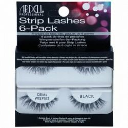 Ardell Strip Lashes nalepovacie mihalnice Multipack Demi Wispies Black