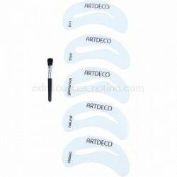 Artdeco Eye Brow Stencil with Brush Applicator štetec na obočie so šablónami