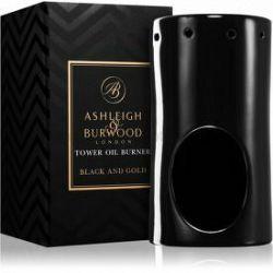 Ashleigh & Burwood London Black and Gold keramická aromalampa