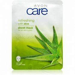 Avon Care plátenná maska pre všetky typy pleti Aloe 1 ml