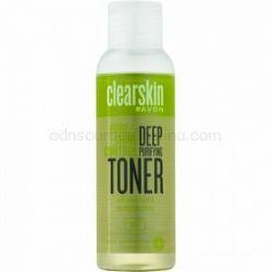 Avon Clearskin  Pore & Shine Control hĺbková čistiaca pleťová voda s chladivým účinkom 100 ml