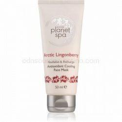 Avon Planet Spa Arctic Lingonberry antioxidačná chladivá maska na tvár 50 ml