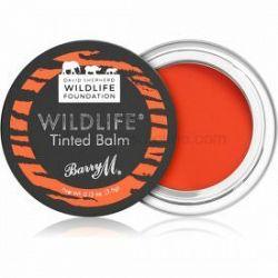 Barry M Wildlife  tónujúci balzam na pery odtieň Untamed Red