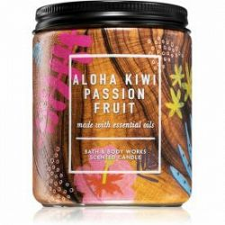 Bath & Body Works Aloha Kiwi Passionfruit vonná sviečka 198 g