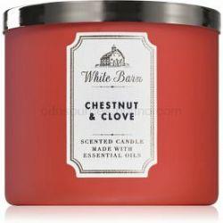 Bath & Body Works Chestnut & Clove vonná sviečka 411 g