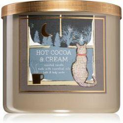 Bath & Body Works Hot Cocoa & Cream vonná sviečka IV. 411 g