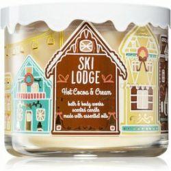 Bath & Body Works Hot Cocoa & Cream vonná sviečka s esenciálnymi olejmi 411 g