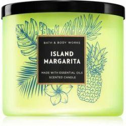 Bath & Body Works Island Margarita vonná sviečka V. 411 g