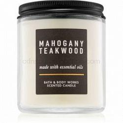 Bath & Body Works Mahogany Teakwood vonná sviečka III. 198 g