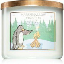 Bath & Body Works Marshmallow Fireside vonná sviečka 411 g