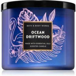 Bath & Body Works Ocean Driftwood vonná sviečka I. 411 g