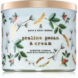 Bath & Body Works Praline Pecan & Cream vonná sviečka 411 g