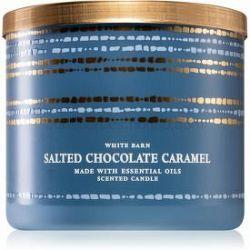 Bath & Body Works Salted Chocolate Caramel vonná sviečka 411 g
