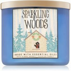 Bath & Body Works Sparkling Woods vonná sviečka 411 g