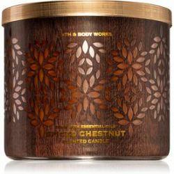 Bath & Body Works Spiced Chestnut vonná sviečka 411 g